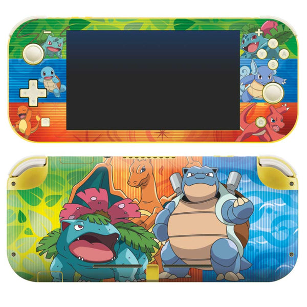 Controller Gear Nintendo Switch Lite Skin Set (Pokemon Kanto Evolutions Set 1)