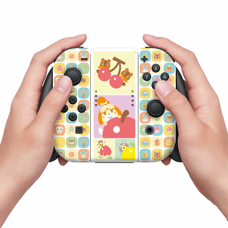 Controller Gear Nintendo Switch Skin & Screen Protector Set (Animal Crossing: Ripe for the Picking)