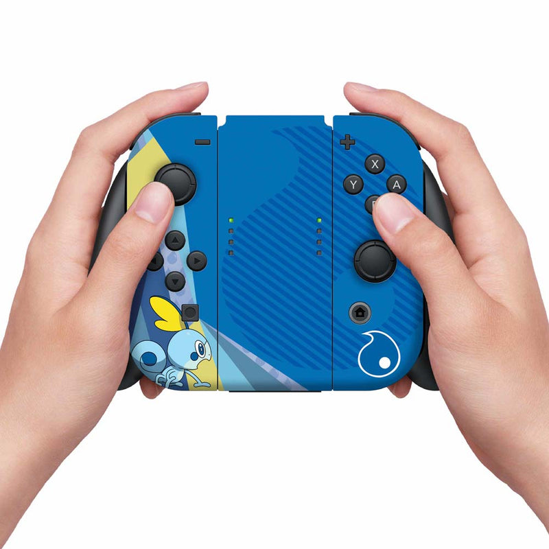 Controller Gear Nintendo Switch Skin & Screen Protector Set (Pokemon Sword/Shield Sobble)