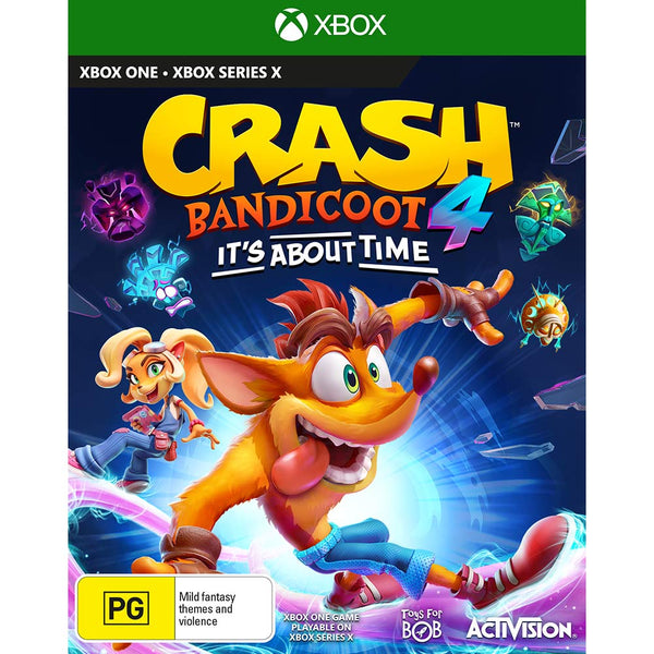 Crash Bandicoot 4 It's About Time (Xbox One/Series X)