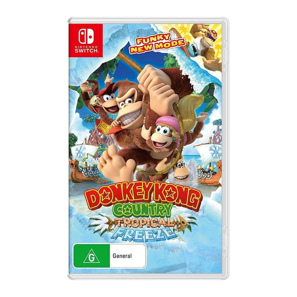 Donkey Kong Country: Tropical Freeze (Nintendo Switch) Games Nintendo