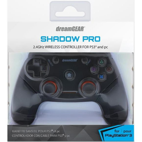 PlayStation 3 (PS3/PC) Shadow Pro Wireless Controller DreamGEAR