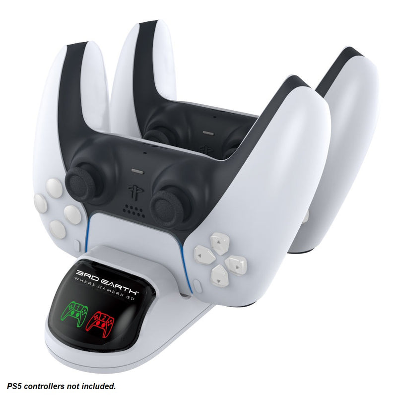 Dual Charging Dock Station for PlayStation 5 DualSense Controller