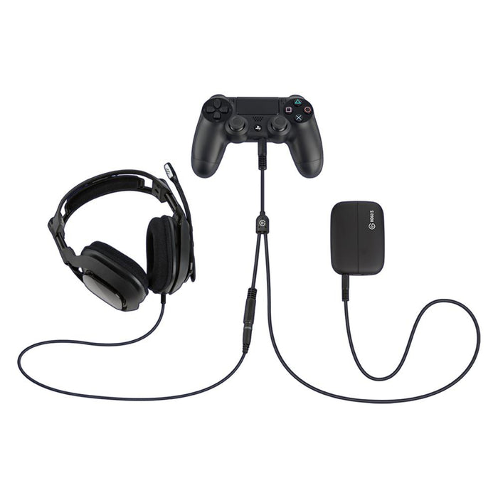 Elgato Gaming Chat Link Cable connected to accessories