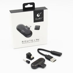 GuliKit Route+ Pro Bluetooth Audio USB Transceiver (Transmitter-Receiver Adapter) for Nintendo Switch