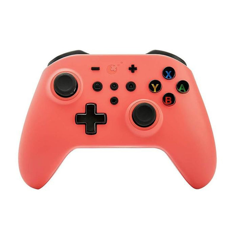 Gulikit KingKong Wireless Controller for Nintendo Switch/PC (Coral Pink) NS08
