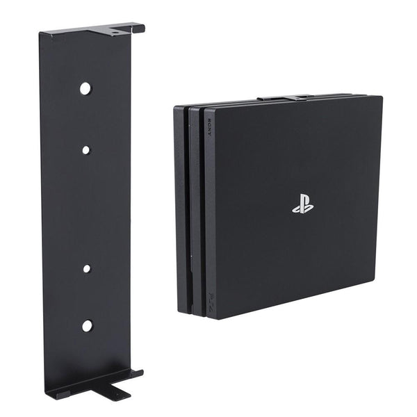 HIDEit 4P PlayStation 4 Pro (PS4 Pro) Vertical Wall Mount Bracket (Black)