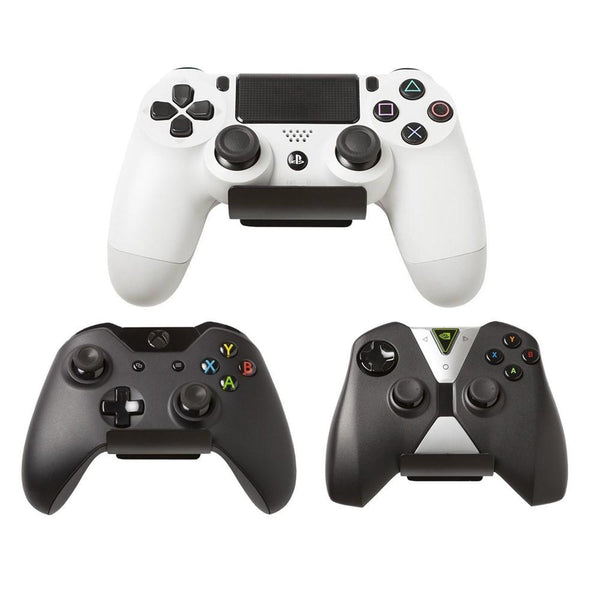 HIDEit Uni-C (2-Pack) Universal Controller Wall Mount | PS4 PS3 Xbox One 360 Nvidia Controller Accessories HIDEit