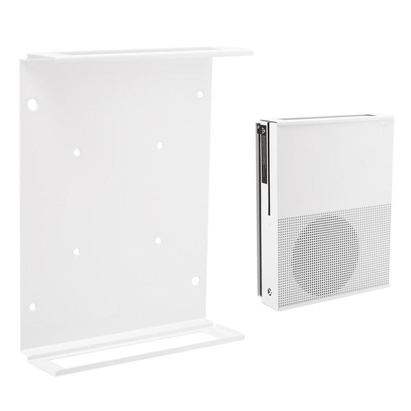 HIDEit X1S Xbox One S Vertical Wall Mount Bracket (White/Black)