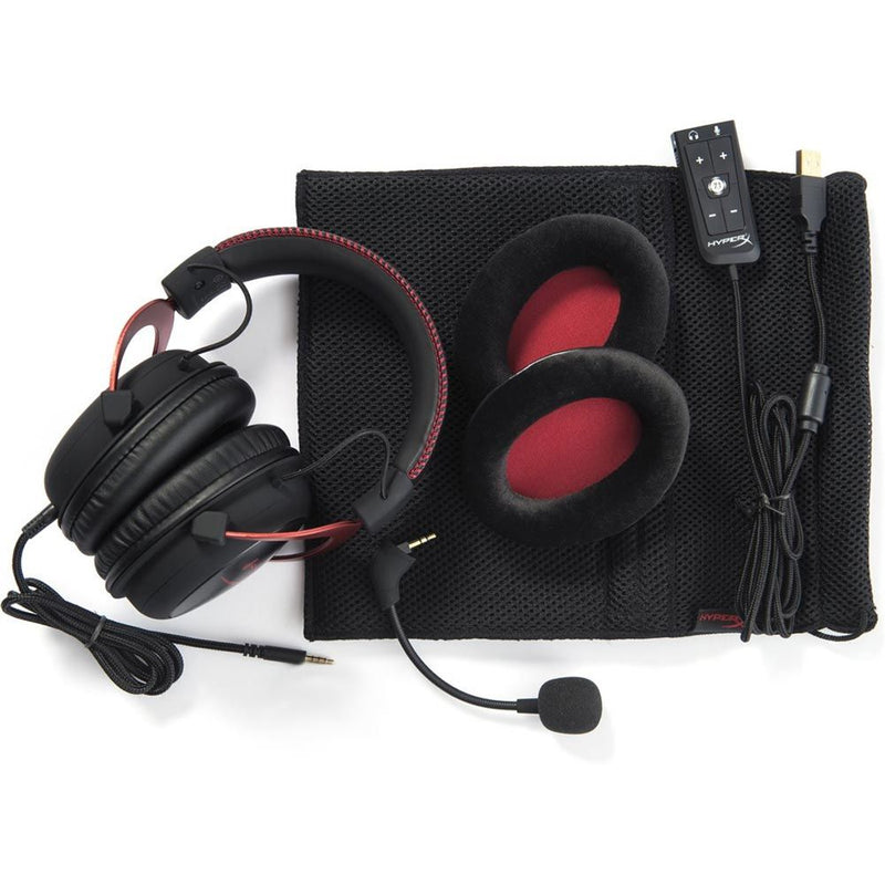 HyperX Cloud II Pro Gaming Headset Red (PC)