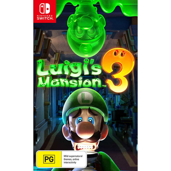 [PRE-ORDER] Luigi's Mansion 3 (Nintendo Switch) (Release Date: Thursday 31/10/19)