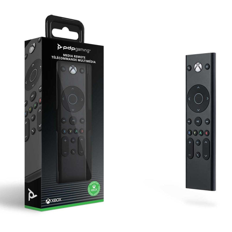 Official Licensed PDP Gaming Media Remote for Xbox Series X / Xbox One