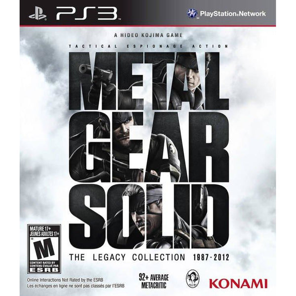 Metal Gear Solid: The Legacy Collection 1987-2012 (U.S Import) (PS3)