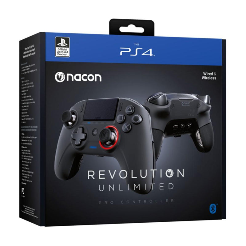 Nacon Revolution Unlimited Pro Controller (PS4) Controllers Nacon
