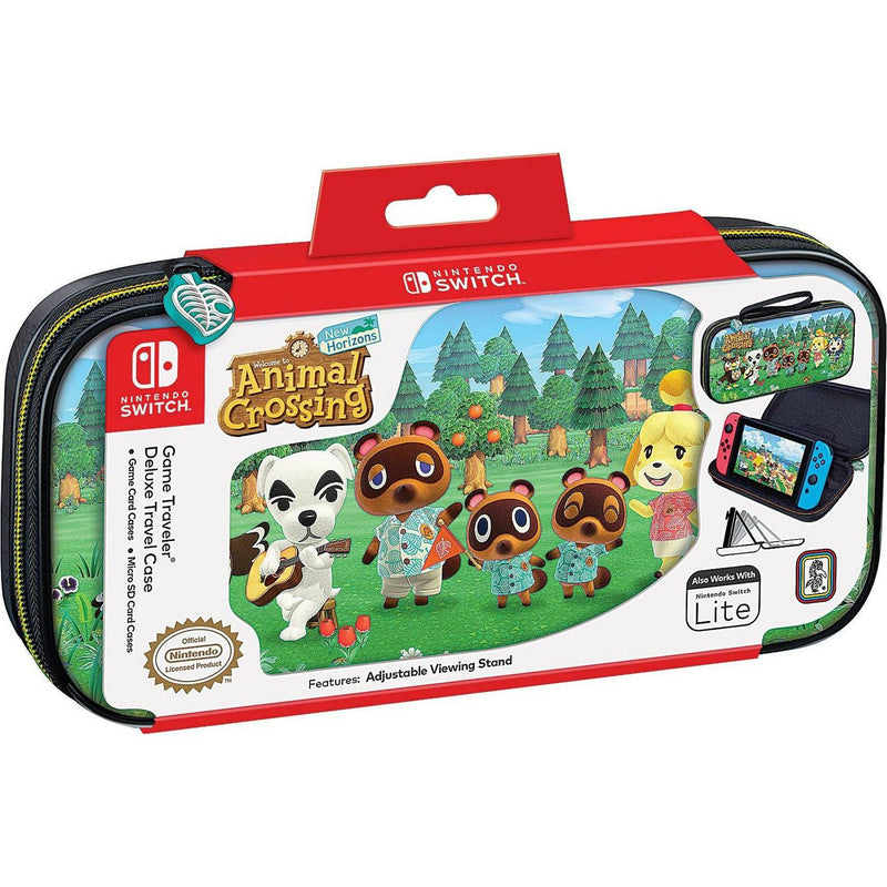 Nintendo Switch Game Traveller Deluxe Carry Case (Animal Crossing New Horizons)