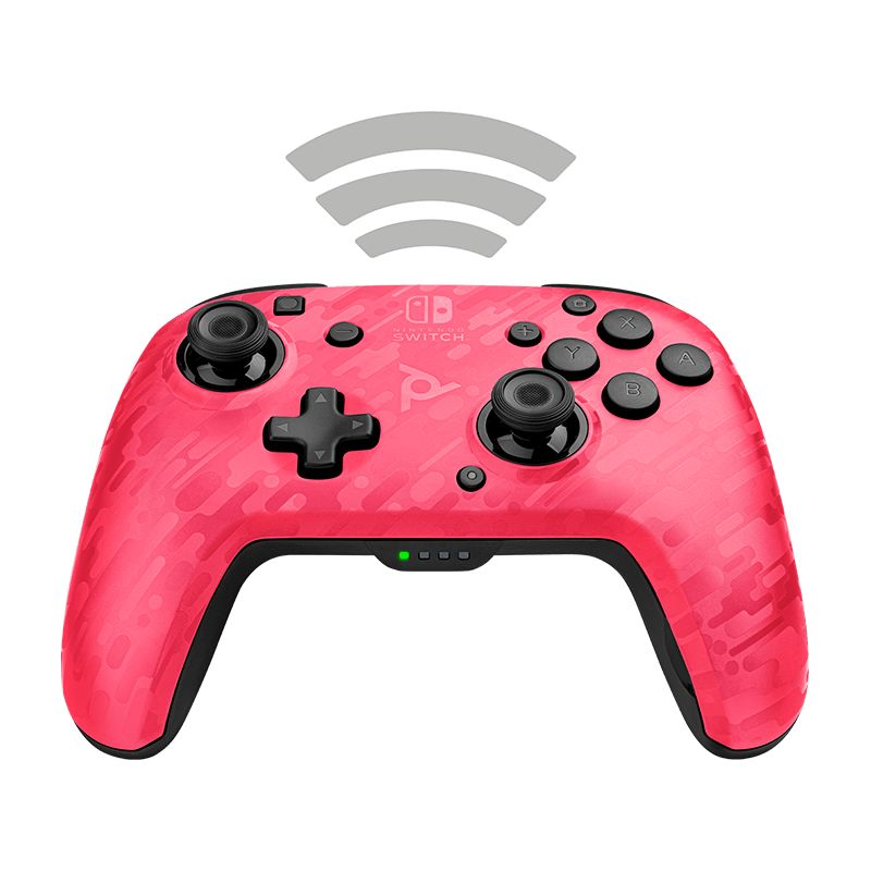 Nintendo Switch PDP Faceoff Wireless Deluxe Controller (Pink Camo)