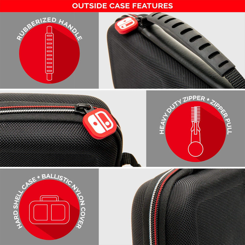 Nintendo Switch Game Traveller Deluxe Travel Carry Case