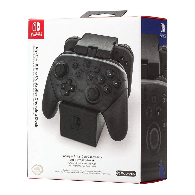 Nintendo Switch Joy-Con & Pro Controller Charging Dock Chargers & Docks PowerA