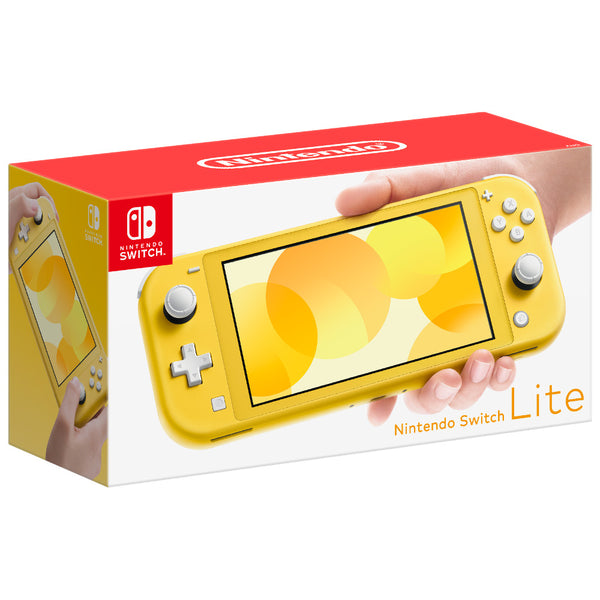 [PRE-ORDER] Nintendo Switch Lite Console (Yellow) (Release Date: Friday 20/9/19)