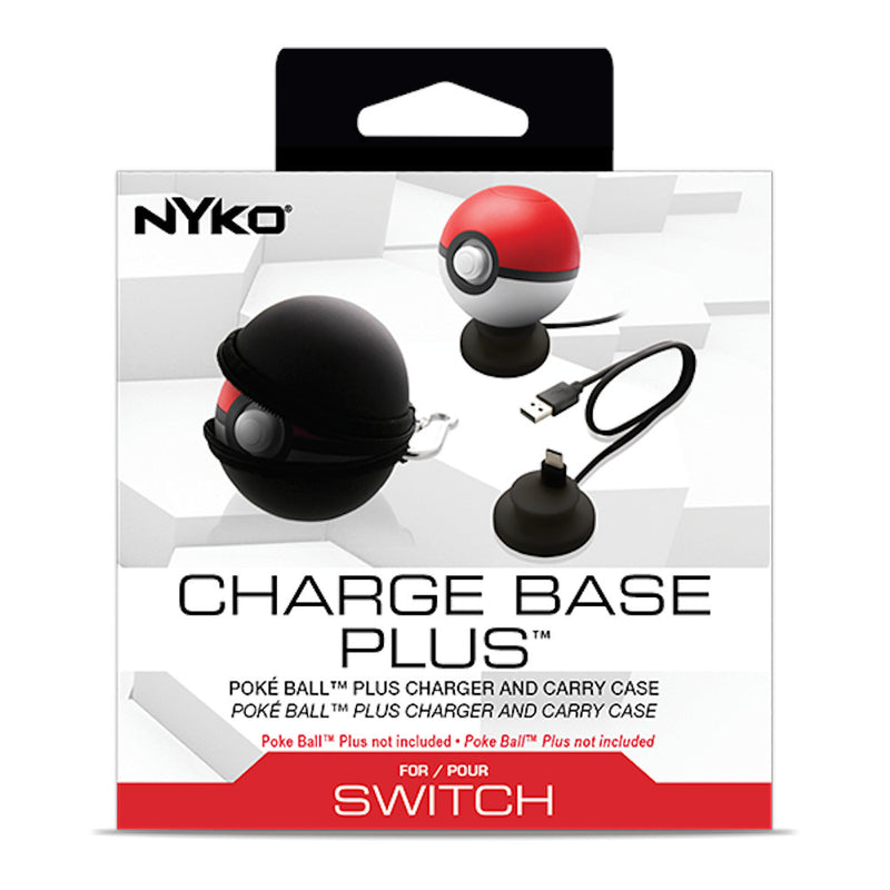 Nyko Charge Base Plus for Poke Ball Plus (Nintendo Switch)
