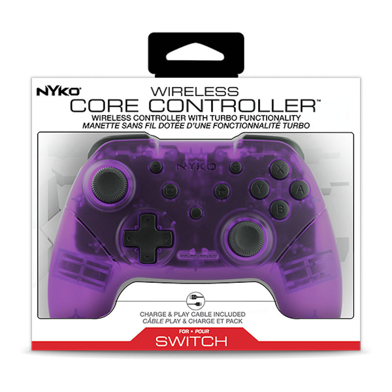 Nyko Wireless Core Controller (Purple) (Nintendo Switch)