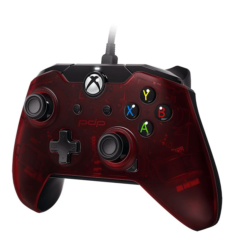 PDP Gaming Wired Controller (Crimson Red) (Xbox One/Series X)