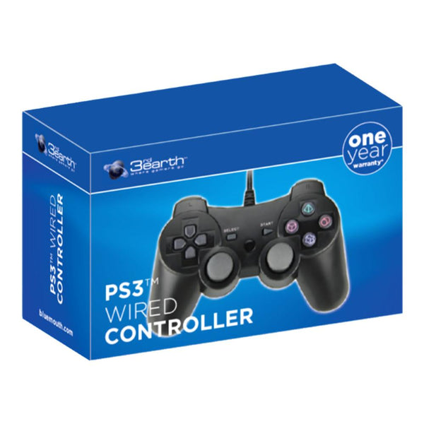 PlayStation 3 (PS3) Wired Controller - Black