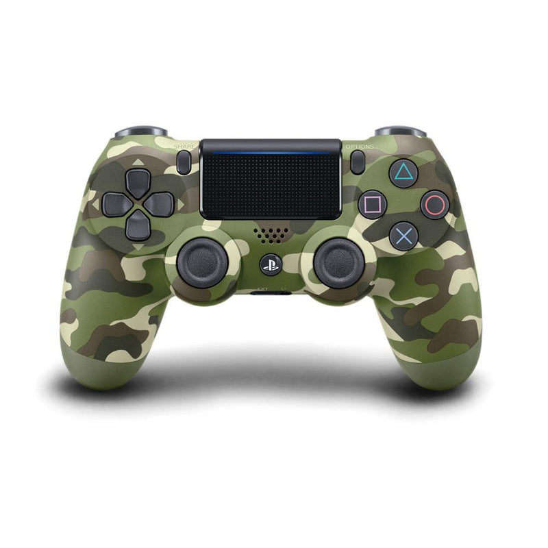 Sony PS4 PlayStation 4 DualShock 4 Wireless Controller V2 (Green Camo) Controllers PlayStation