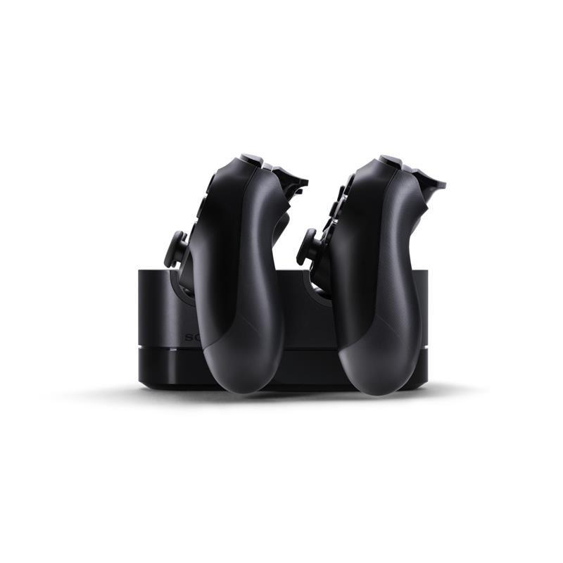 PS4 DualShock 4 Controller Dual Charging Station/Dock (PlayStation 4) Chargers & Docks PlayStation