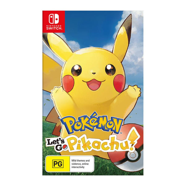 Pokémon: Let's Go Pikachu! (Nintendo Switch) Games Nintendo
