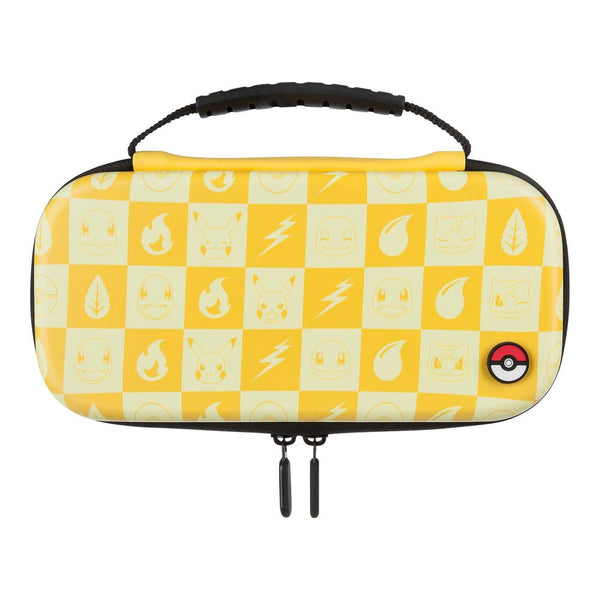 PowerA Protection Case Kit for Nintendo Switch Lite (Pokemon Yellow Checkered)