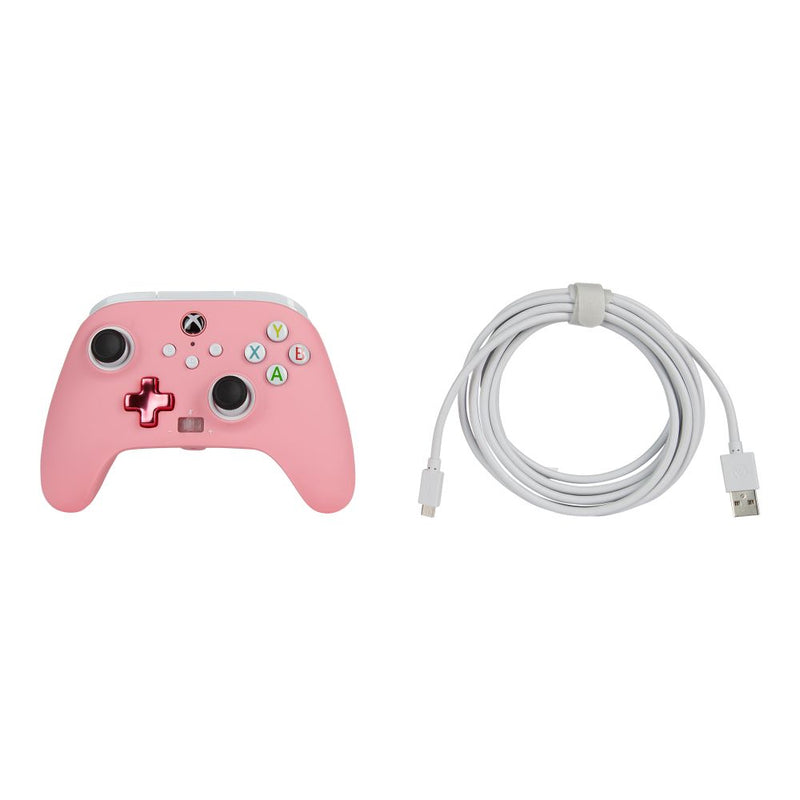 PowerA Xbox Series X|S Enhanced Wired Controller (Bold Pink)
