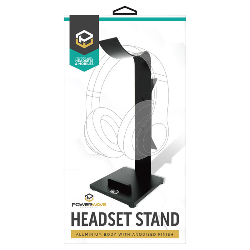 Powerwave Aluminium Headset & Mobile Stand
