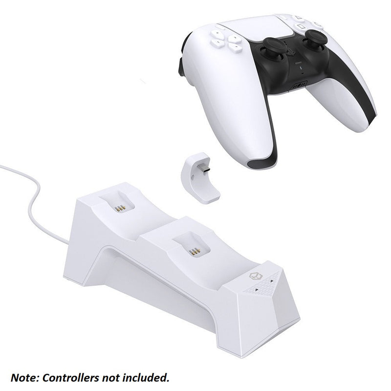Powerwave Dual Charging Dock Station for PlayStation 5 DualSense Controller