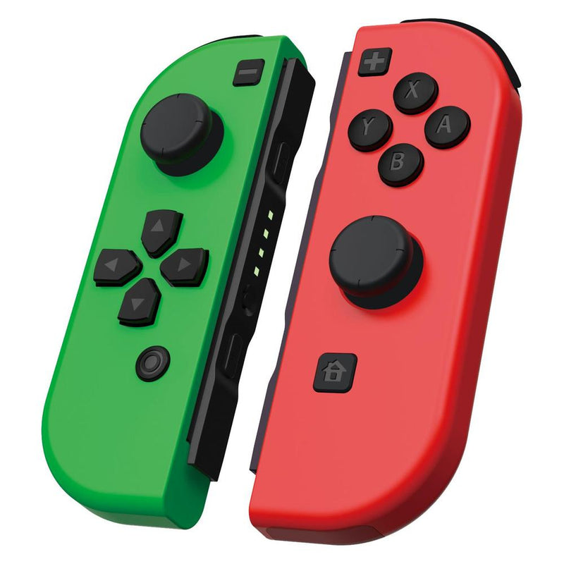 Powerwave Nintendo Switch Joypad Controllers Green & Red Pair