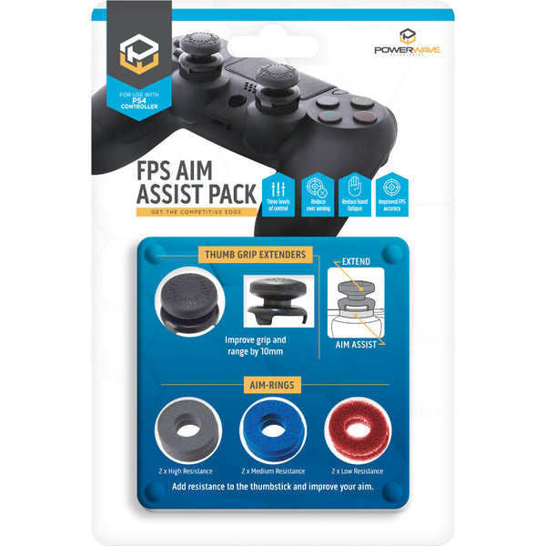 Powerwave PS4 Controller FPS Aim Assist Pack