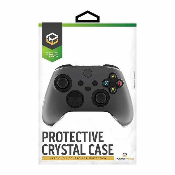 Powerwave Protective Hard-Shell Crystal Case for Xbox Series X | S Controller