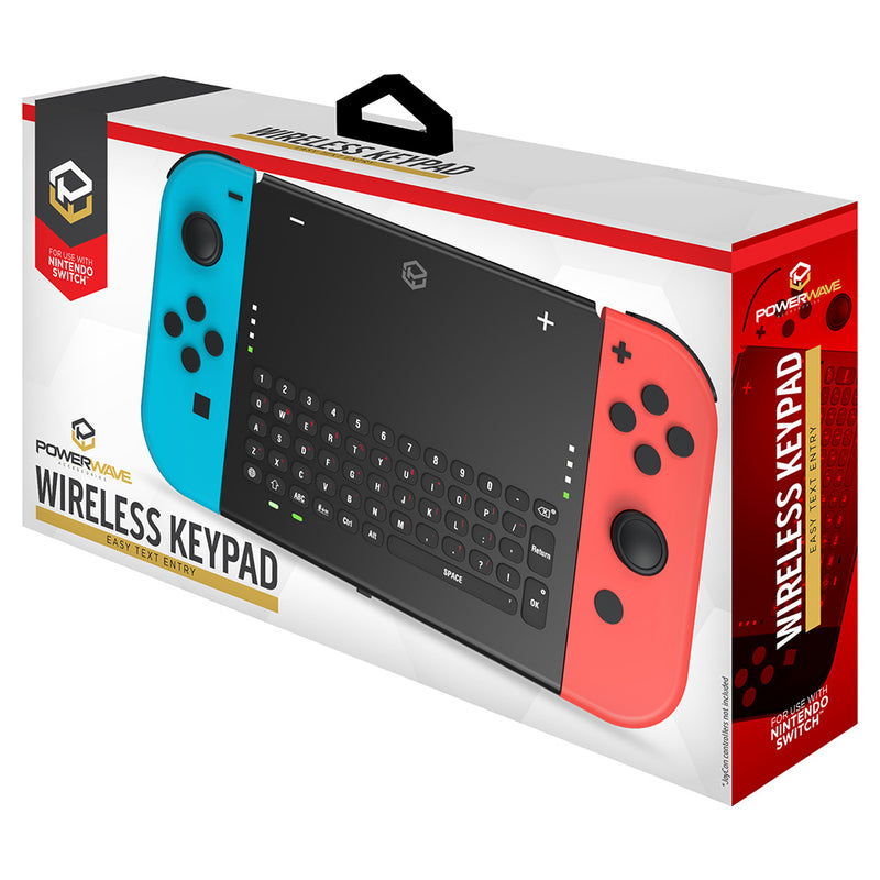 Powerwave Wireless Keypad for Nintendo Switch