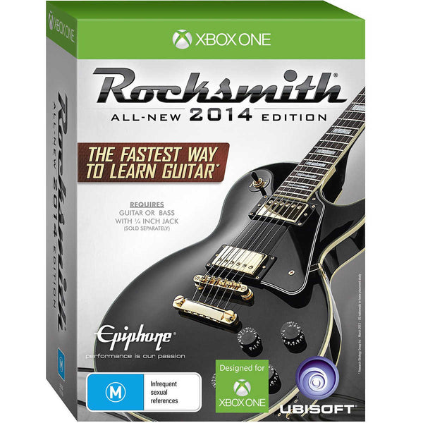 Rocksmith 2014 with Real Tone Guitar/Bass Cable (Xbox One)