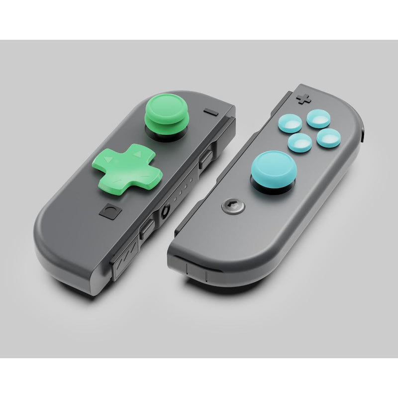Skull & Co. D-Pad Button Cap Set for Nintendo Switch Joy-Con Controller - Animal Crossing