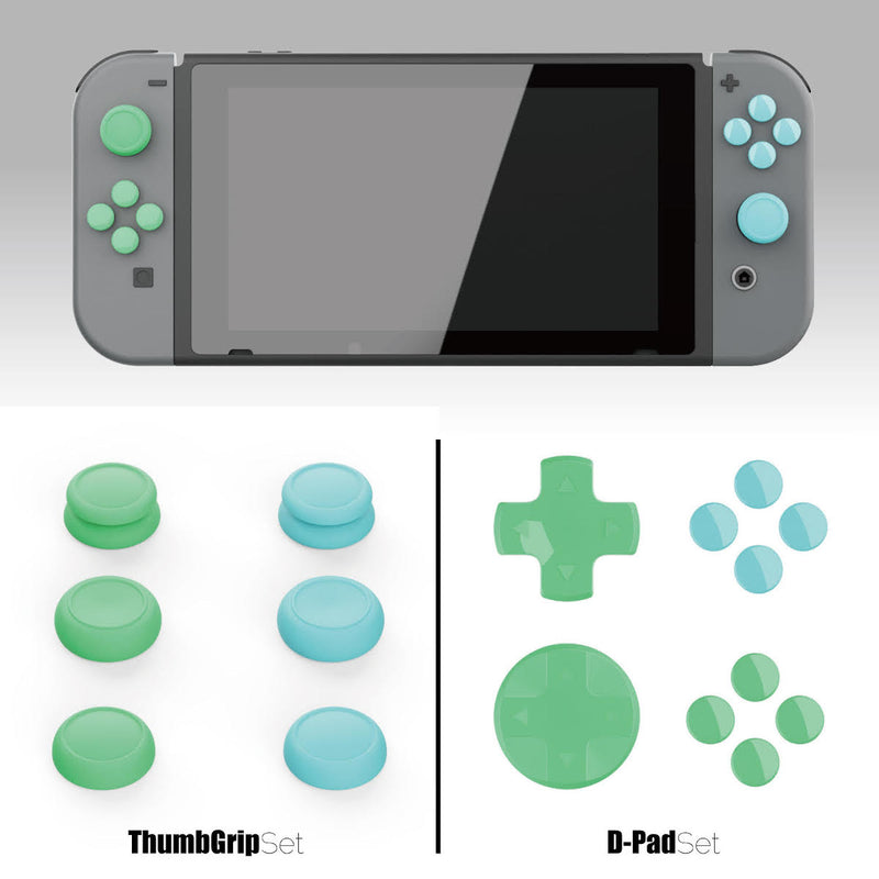 Skull & Co. Thumb Grip Set for Nintendo Switch Joy-Con Controller (Animal Crossing)