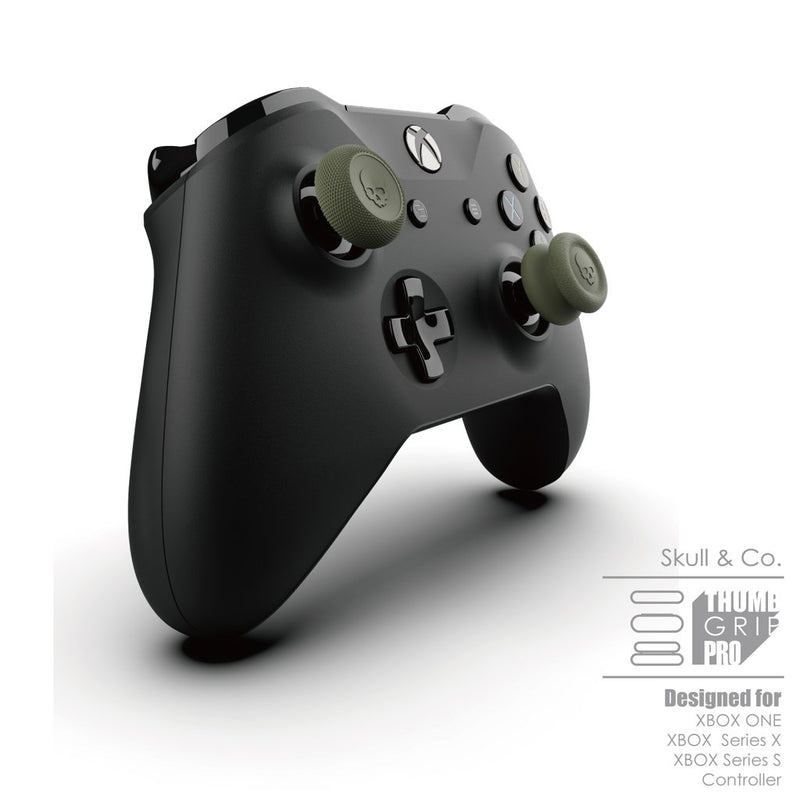 Skull & Co. Thumb Grip Set for Xbox One/Series X Controller (Black)