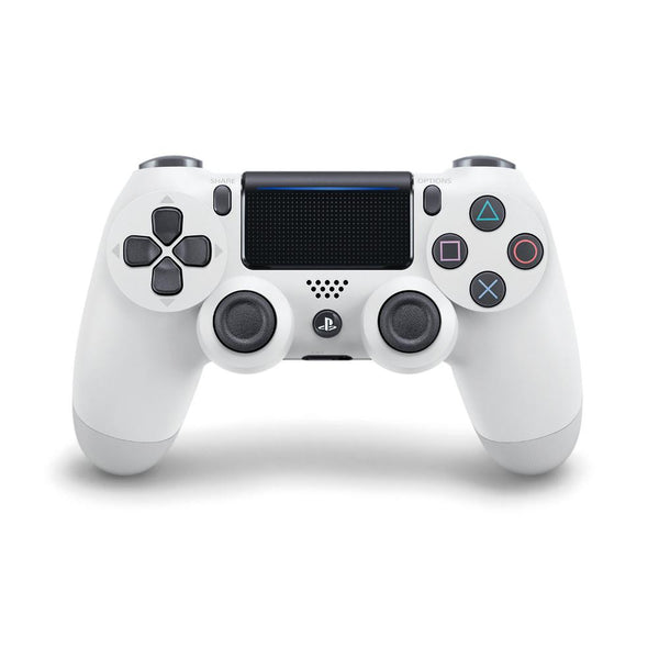 Sony PS4 PlayStation 4 DualShock 4 Wireless Controller V2 (Glacier White) Controllers PlayStation