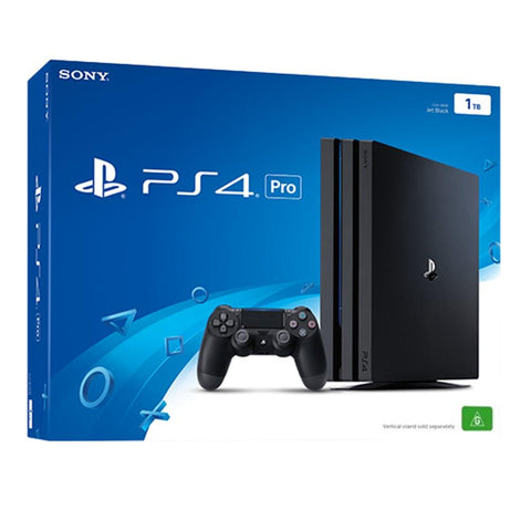 Sony PS4 PlayStation 4 Pro 1TB Console (Jet Black)