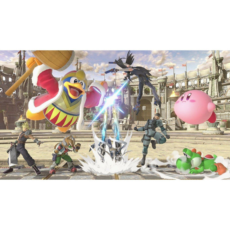 Super Smash Bros. Ultimate (Nintendo Switch) Games Nintendo
