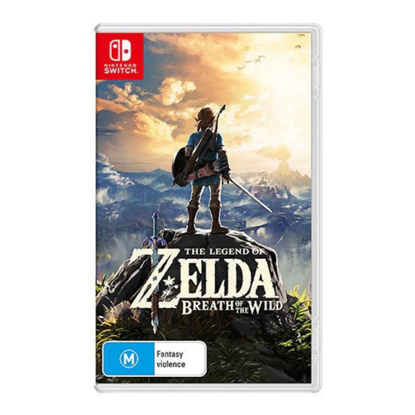 The Legend of Zelda: Breath of the Wild (Nintendo Switch) Games Nintendo