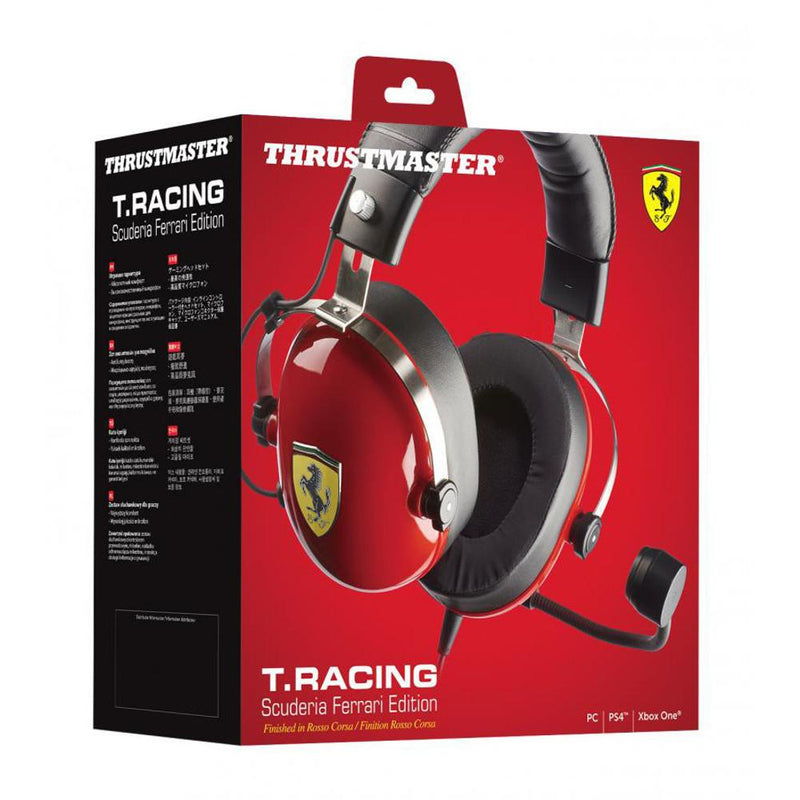 Thrustmaster T.Racing Scuderia Ferrari Edition Wired Gaming Headset (PS4/Xbox One/PC/Switch) Headsets Thrustmaster