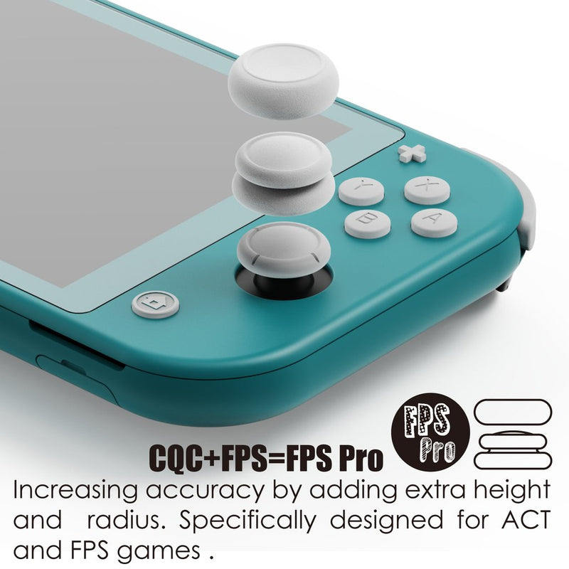 Skull & Co. Thumb Grip Set for Nintendo Switch Lite (Cyan & Magenta)