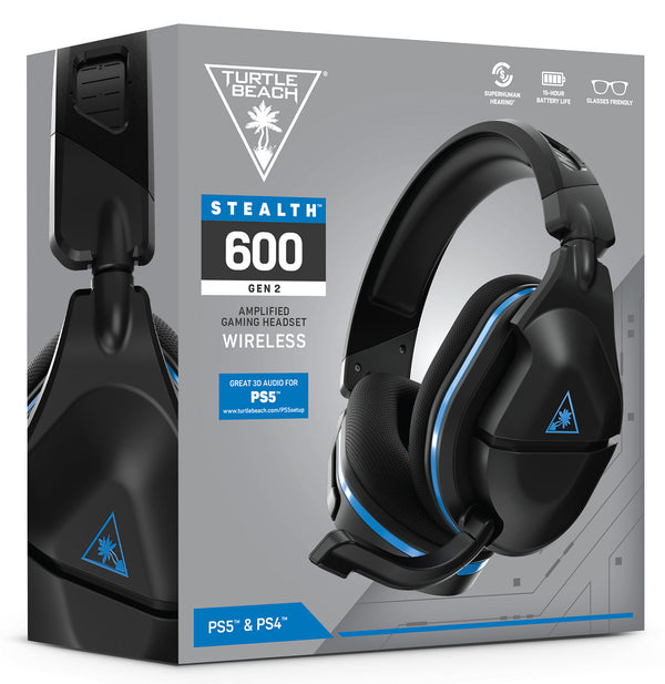 Turtle Beach Stealth 600 Gen 2 Wireless Surround Sound Gaming Headset (PS5/PS4) - Pre Order - ETA Early 1st March 2021