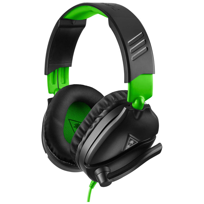 Turtle Beach Ear Force Recon 70 Wired Gaming Headset (Black/Green) (Xbox One/PS4/Switch/PC)